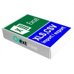 Импорт Excel, CSV, DSV для OpenCart 3, OpenCart 2 - anyCSV/XLS ™
